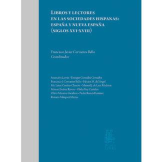 portada libro Libros y lectores en las sociedades hispanas: España y Nueva España