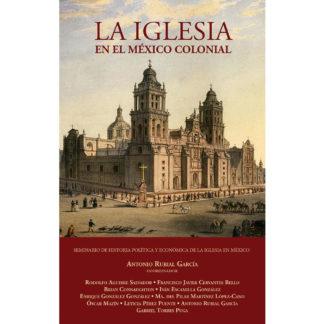 portada libro La iglesia en el México Colonial